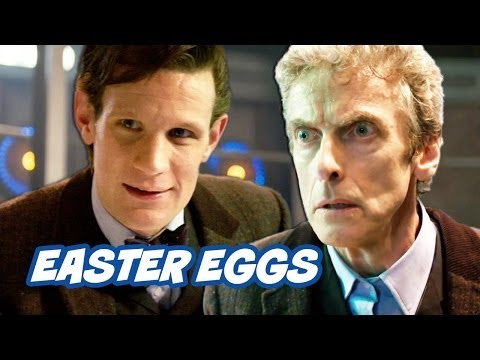 Doctor Who Christmas Special 2013 Easter Eggs - WHOLOCK WEEK