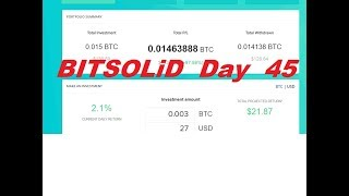 BITSOLiD Day 45