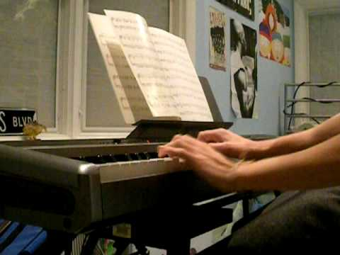 The Elf and the Fairy by Berenice Benson Bentley on the Piano