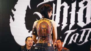 Chaing mai Tattoo Convention 2017 - มหกรรมประกวดรอยสัก .นานาชาติ ครั้งที่1 เชียงใหม่.