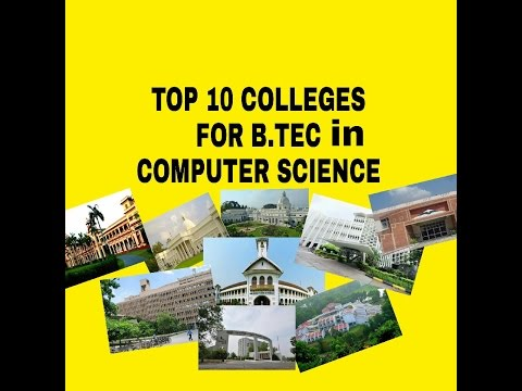 TOP 10 2017 colleges for computer science in India |Hindi|