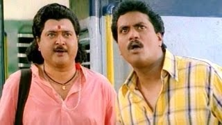 Comedy Kings - Hilarious Comedy Scene  In Apsara Lodge -  Sudhakar, Sunil