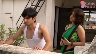 TV Serial Aunty Tapasya Srivastava NAVEL Show in SAVDHAAN INDIA || HOT Scene in Sawdhan India