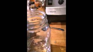 Making colloidal copper with a coffee maker easy