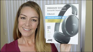 JVC  HA-S90BN headphones review