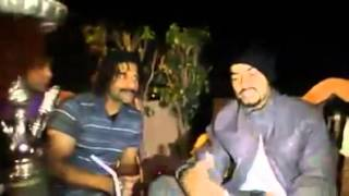 BOHEMIA hanging out with fans after concert rapping live (RARE VIDEO