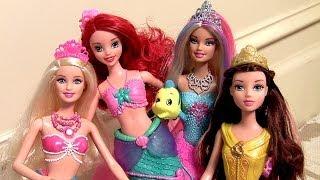 Boneca Barbie Sereia Cores Mágicas Lumina A Sereia das Pérolas Color Changers Fashion Doll