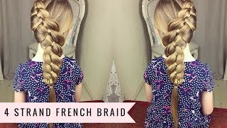 4 Strand French Braid by SweetHearts Hair