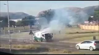 Money Truck Bombed, Wild Shooting in Cash-in-Transit Heist Pretoria