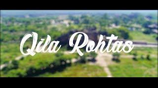 4k Aerial View of  Qila Rohtas Fort - Jhelum - Amazing Pakistan