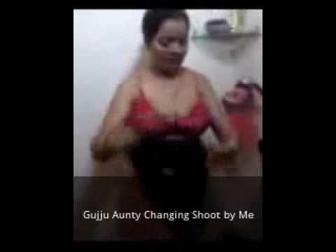 Gujju Aunty Changing Shoot by Me | Bhabhi Seduced