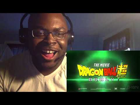 Ant Will Reacts-402-Dragon Ball Super: Broly Movie Trailer (English Dub Reveal) Reaction