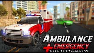 911 Ambulance City Rescue: Game Mengemudi Darurat - Permainan Anak Laki Laki