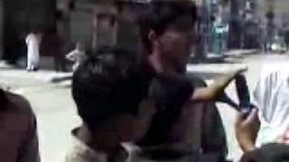 baloch messing with punjabi police