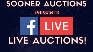 Thrift Trader Is Selling On Facebook Live - I Started A Live Auction Page