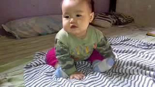 Shabrina bayi lucu2 umur 9 bulan