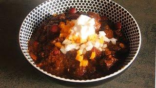 CHILLI CON CARNE with Beef or Venison - Professional Recipe /chili