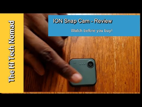 Review - Ion SnapCam
