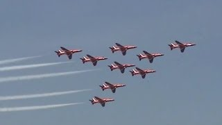 2008 Rhode Island ANG Open House - RAF Red Arrows