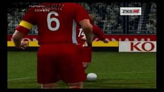 PES 2009 PS2 Become A Legend Ep3