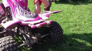 Yamaha Raptor 700 pink pussy edition :)