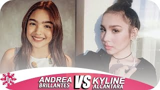 ★Andrea Brillantes VS Kyline Alcantara l Musically Battle l