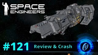 GEI Enforcer-Class Destroyer Review and Crash! Space Engineers Part 121