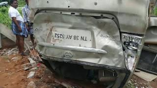 Live Rash driving accident at Tamilnadu