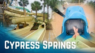 Amazing Waterpark Near Orlando: Cypress Springs at Gaylord Palms (All Waterslides Onride)