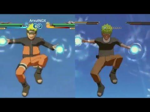 watch Naruto Shippuden Ultimate Ninja Storm 4 Comparisons