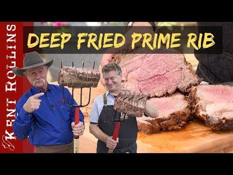 Deep Fried Prime Rib Pitchfork Rib Fondue