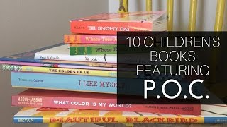 10 Children's Books That Feature People Of Color!