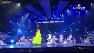 Shraddha Kapoor Performance dance    FBB Femina Miss India 2014 HD