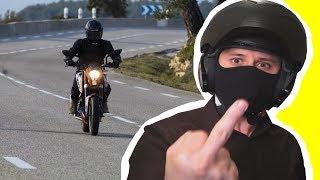 OUI ! Je déteste les motards !!