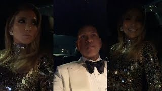 Jennifer Lopez & Alex Rodriguez | Instagram Live Stream | 24 February 2019 #Oscars2019