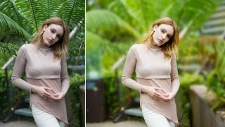 Fantasy Blurry Background Portrait Effect - Photoshop Tutorial
