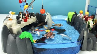 Playmobil Dolphin Aquarium Pool Playset with Sea Animals - Fun Toys For Kids