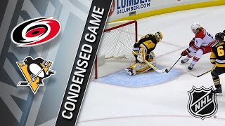 01/23/18 Condensed Game: Hurricanes @ Penguins