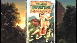 The Land Before Time Home Videos and Sing-Along (2001) Promo (VHS Capture)