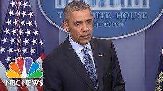 President Obama Explains Rationale Behind Chelsea Manning Commutation | NBC News