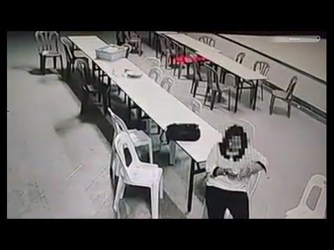 Fantasma ataca a Mujer en Hotel embrujado Poltergeist