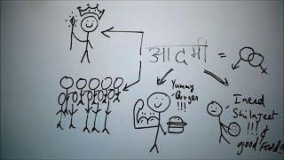 Aadmi Nama - BKP | आदमी नामा | class 9 cbse hindi poem explanation /summary