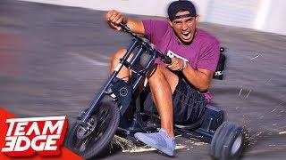 Electric Drift Scooter BATTLE!!