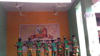 Kids dance for CSK by CPS Easwaran Koil Street