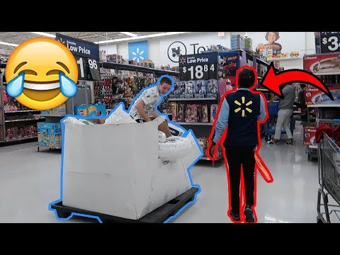 DOING YOUR DARES IN WALMART 3 KICKED OUT