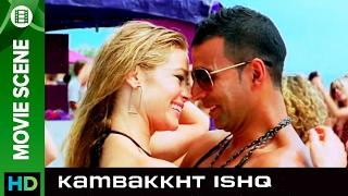 Akshay Kumar likes Indian Girls   Kambakkht Ishq   Movie Scene