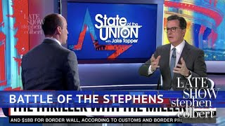 Stephen Interviews Jake Tapper