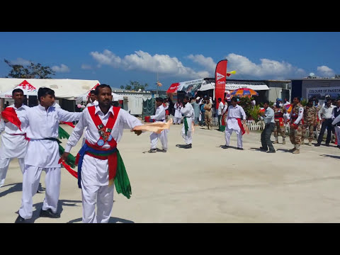 Khattak dance in USA Haiti