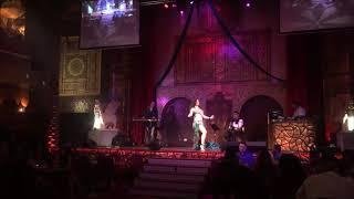 Rose, Middle Eastern Belly Dancer Improv Raqs Sharqi solo at Alhambra Palace - Part I