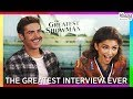 The Greatest Interview Ever Hugh Jackman Zac Efron Zendaya Keala Settle The Greatest Showman 3gp mp4 video
